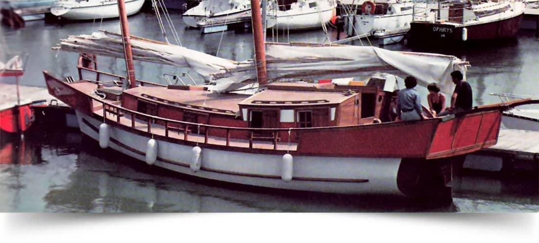 La Grande Halte, 12.5M Ocean-Going Sailing Junk, La Rochelle