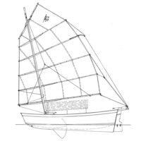 4.72m modern sailing junk