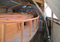 Deck, deckhouse and 'port holes'